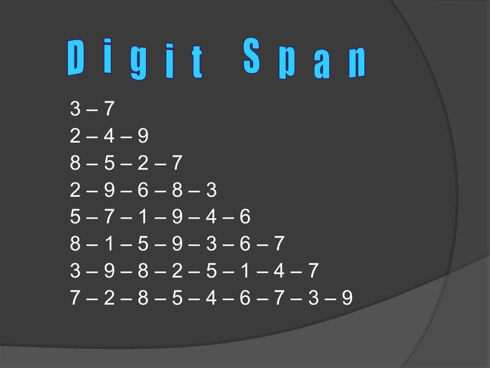 3 – 7 2 – 4 – 9 8 – 5 – 2 – 7 2 – 9 – 6 – 8 – 3 5 – 7 – 1 – 9 – 4 – 6 8 – 1 – 5 – 9 – 3 – 6 – 7 3 – 9 – 8 – 2 – 5 – 1 – 4 – 7 7 – 2 – 8 – 5 – 4 – 6 – 7 – 3 – 9