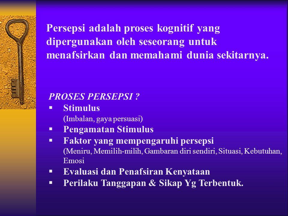 Faktor penyebab perbedaan individu dalam perilaku??..  Persepsi (Perception)  Sikap (Attitudes)  Kepribadian (Personality)  Belajar (Learning).