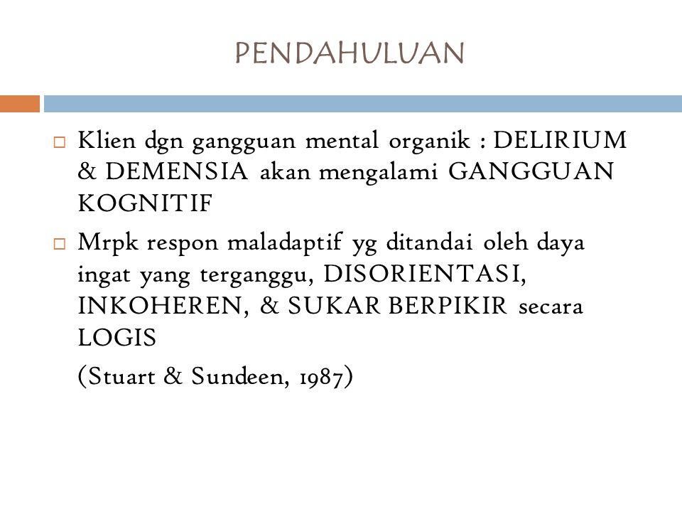 Kognisi  Perception (Persepsi). Attention (Perhatian).