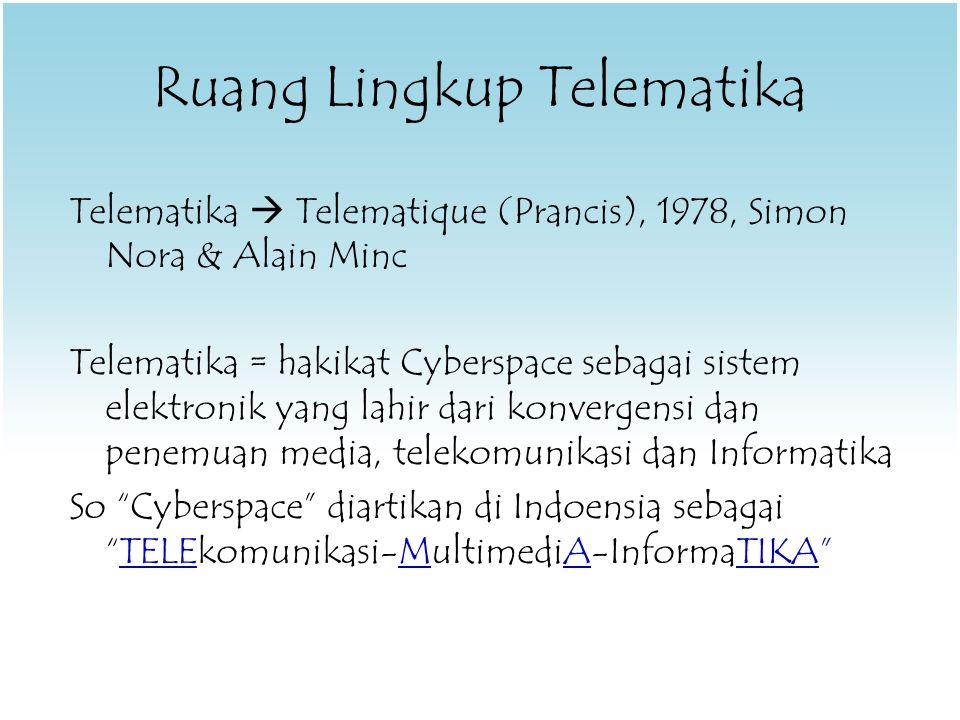 Solusinya..= Teknologi Komunikasi.!.Bila tidak ada aturan nya,...