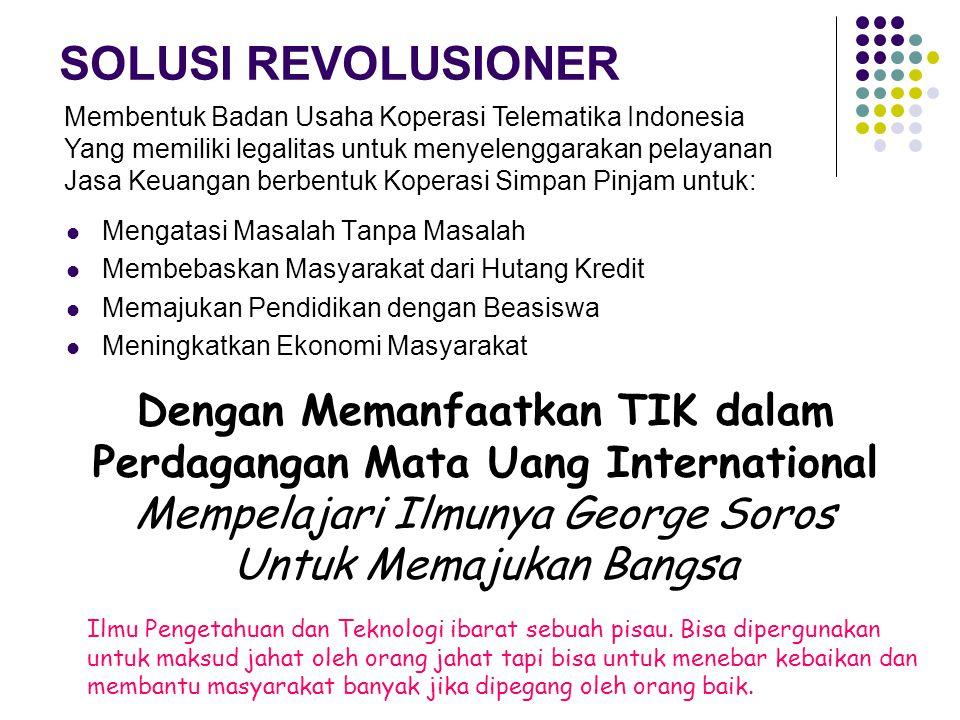 Koperasi Telematika Indonesia membuka kesempatan yang seluas- luasnya kepada masyarakat Indonesia untuk mendaftar menjadi anggota.