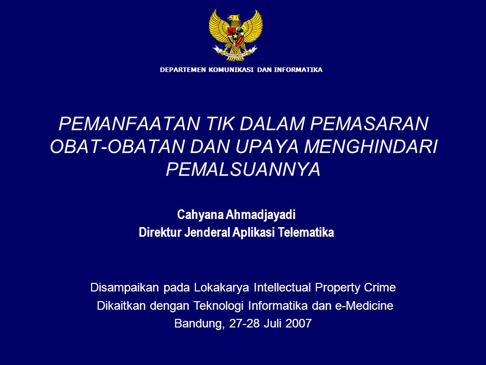 Cyberlaw di beberapa negara (5) UK a.l: –Computer Misuse Act –Defamation Act –Unfair contract terms Act –IPR (Trademarks, Copyright, Design and Patents Act) SOUTH KOREA a.l: –Act on the protection of personal information managed by public agencies –Communications privacy act –Electronic commerce basic law –Electronic communications business law –Law on computer network expansion and use promotion –Law on trade administration automation –Law on use and protection of credit card –Telecommunication security protection act –National security law