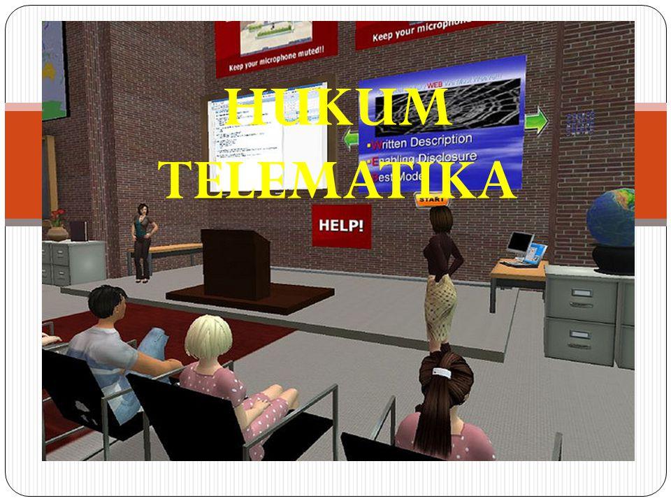 Pertemuan 1 Selasa, 12 Febuari 2013 Hukum Telematika HUKUM TELEMATIKA