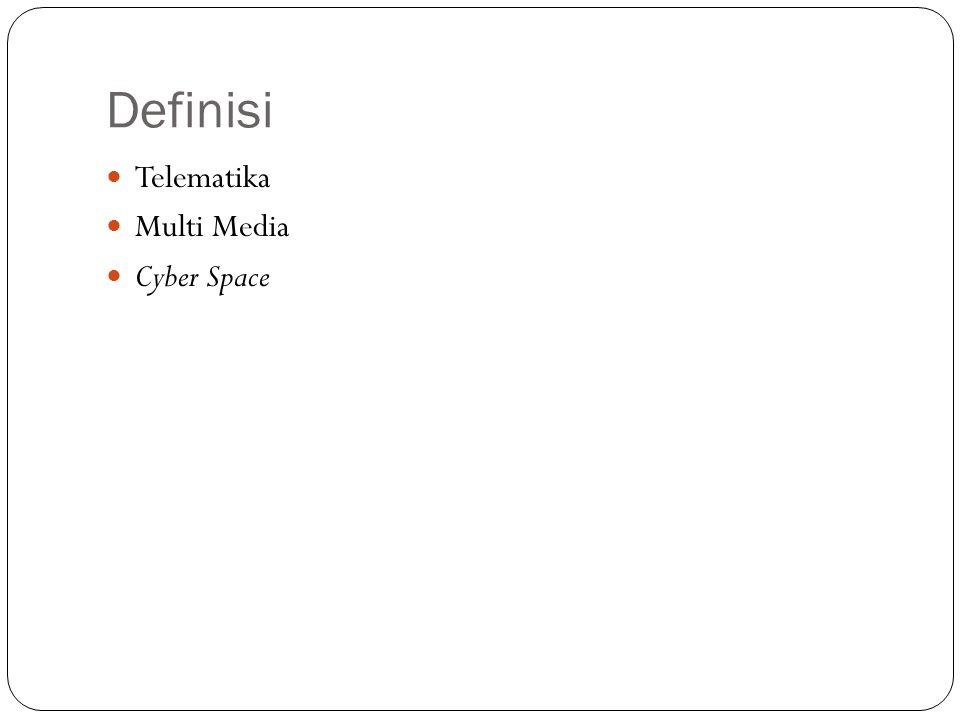 Definisi Telematika Multi Media Cyber Space