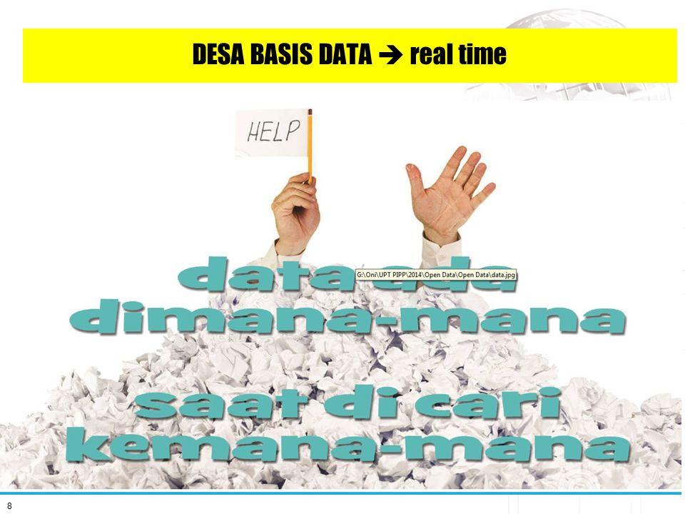8 DESA BASIS DATA  real time