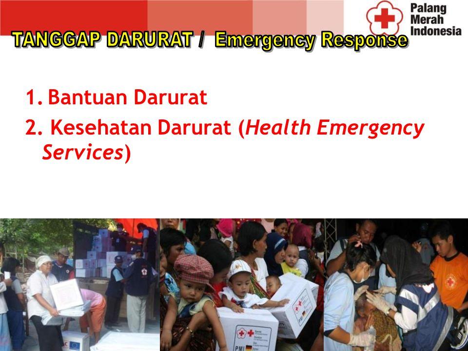 Di setiap zoning area akan dilengkapi dengan : Gudang Logistik 2 Ambulan standart 2 unit Watsan Equipment 5 Truk 2 Hagloon Khusus untuk Heli di tempatkan di Jakarta dan Makassar.