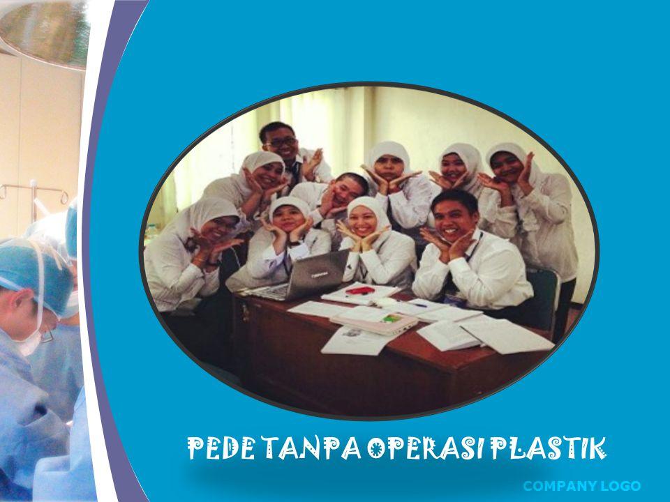 COMPANY LOGO PEDE TANPA OPERASI PLASTIK