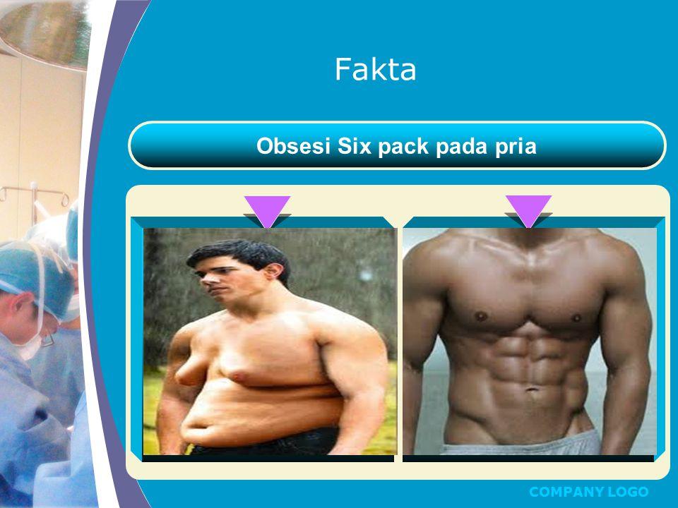 COMPANY LOGO Fakta Obsesi Six pack pada pria Text Here