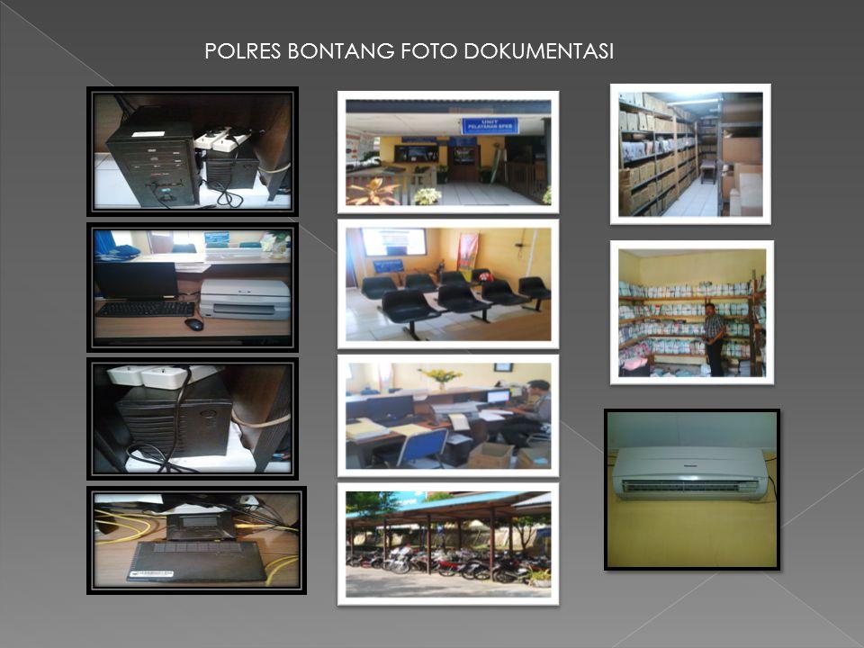 POLRES BONTANG FOTO DOKUMENTASI