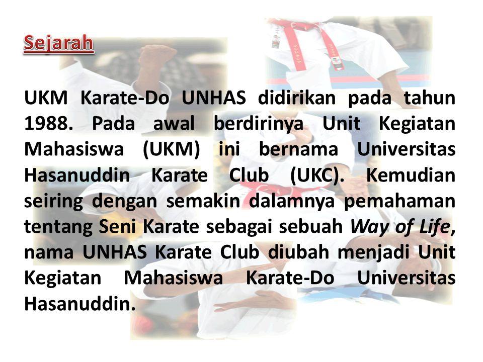 UKM Karate-Do UNHAS didirikan pada tahun 1988. Pada awal berdirinya Unit Kegiatan Mahasiswa (UKM) ini bernama Universitas Hasanuddin Karate Club (UKC)
