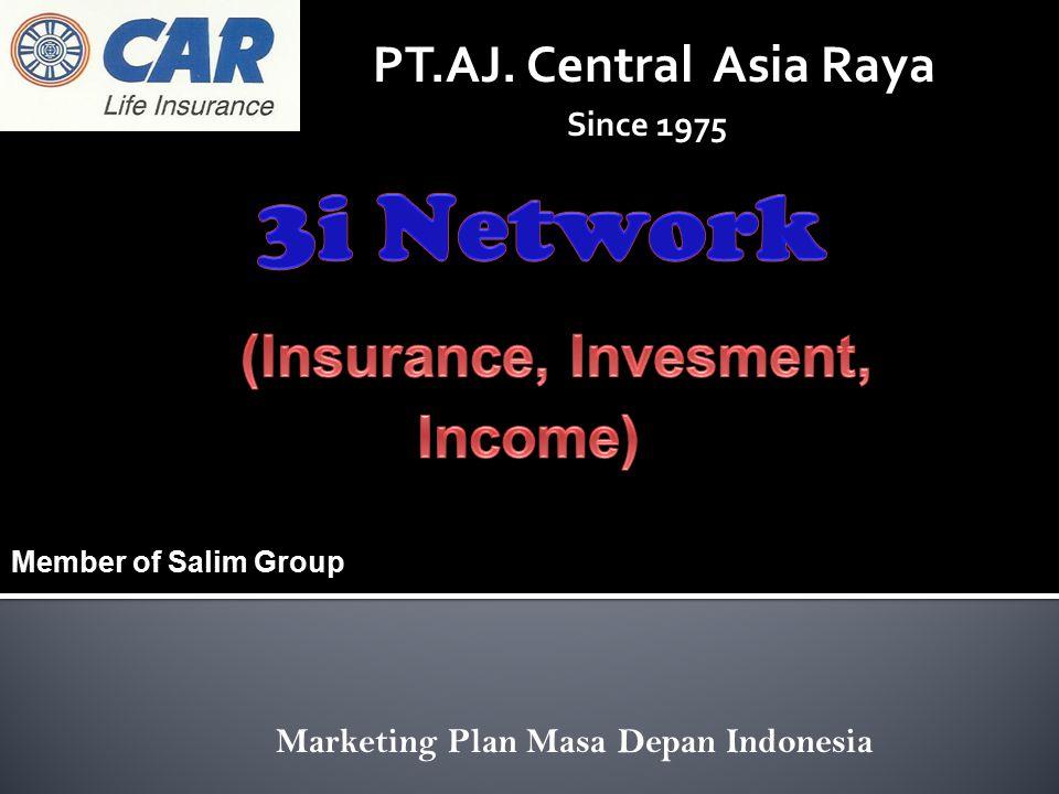 Marketing Plan Masa Depan Indonesia PT.AJ. Central Asia Raya Since 1975 Member of Salim Group
