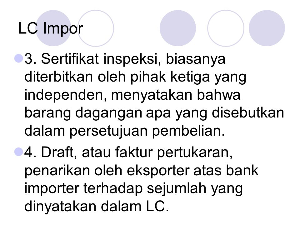 LC Impor 3.