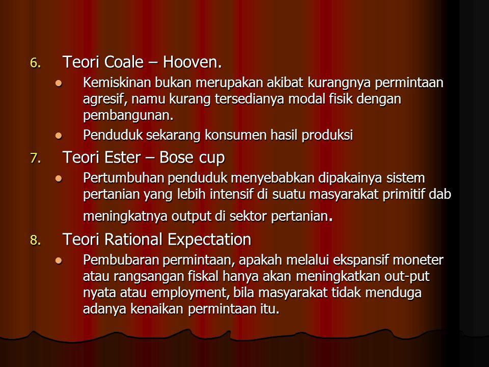 6.Teori Coale – Hooven.