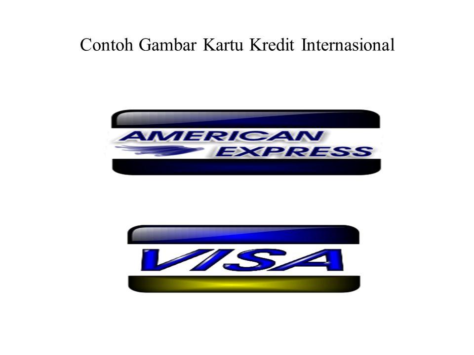 Contoh Gambar Kartu Kredit Internasional