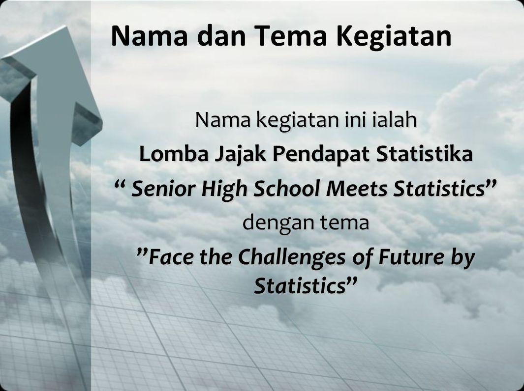 Sasaran dan Target Sasaran dari kegiatan ini ialah seluruh siswa SMA se-Indonesia dan siswa Indonesia di Asia Tenggara Jumlah peserta yang diharapkan ialah 60 siswa Sasaran dari kegiatan ini ialah seluruh siswa SMA se-Indonesia dan siswa Indonesia di Asia Tenggara Jumlah peserta yang diharapkan ialah 60 siswa