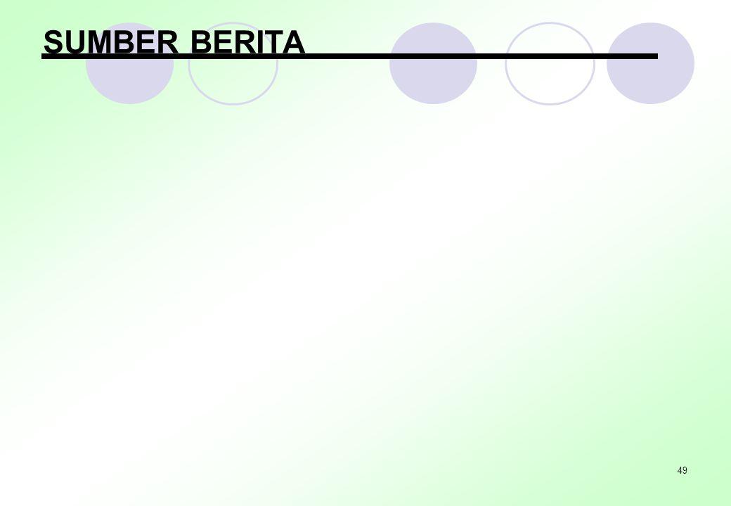 49 SUMBER BERITA