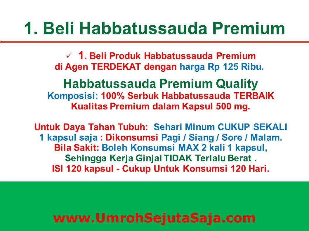 KELEBIHAN Habbatussauda Premium Habbatussauda Premium Quality: Harga Rp 125 Ribu.