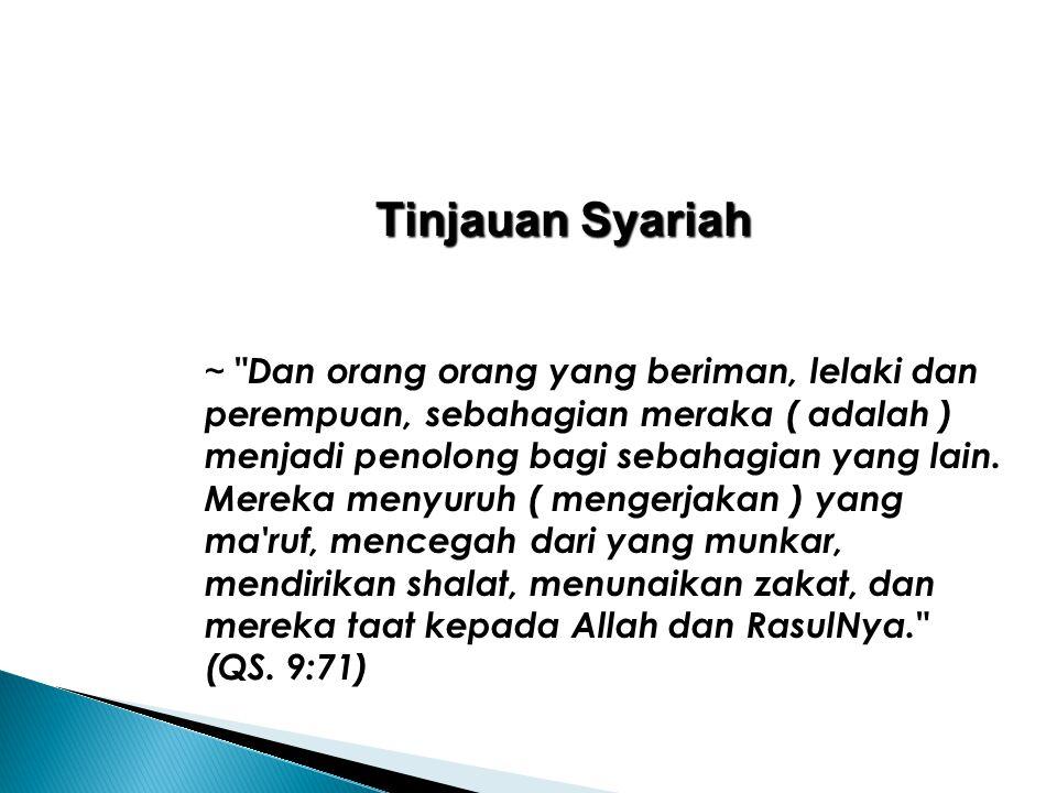 Tinjauan Syariah ~