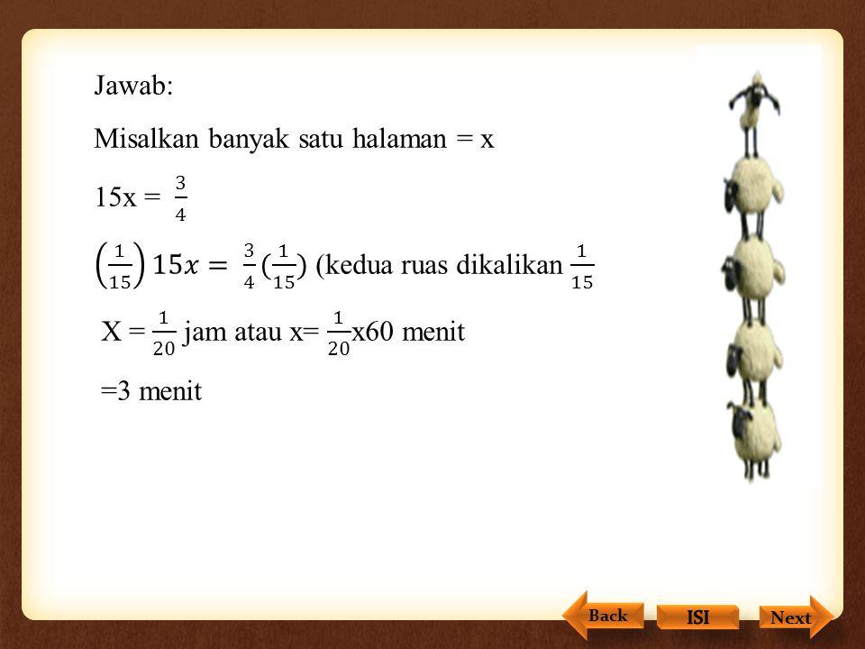 Menyelesaikan Penyelesaian Penyelesaian pertidaksamaan linear satu variabel, dapat dilakukan dalam dua cara sebagai berikut. Mencari lebih dahulu peny