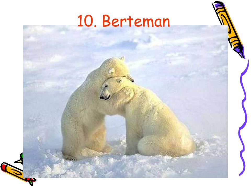 10. Berteman