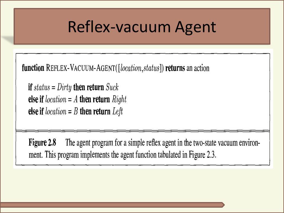 Reflex-vacuum Agent