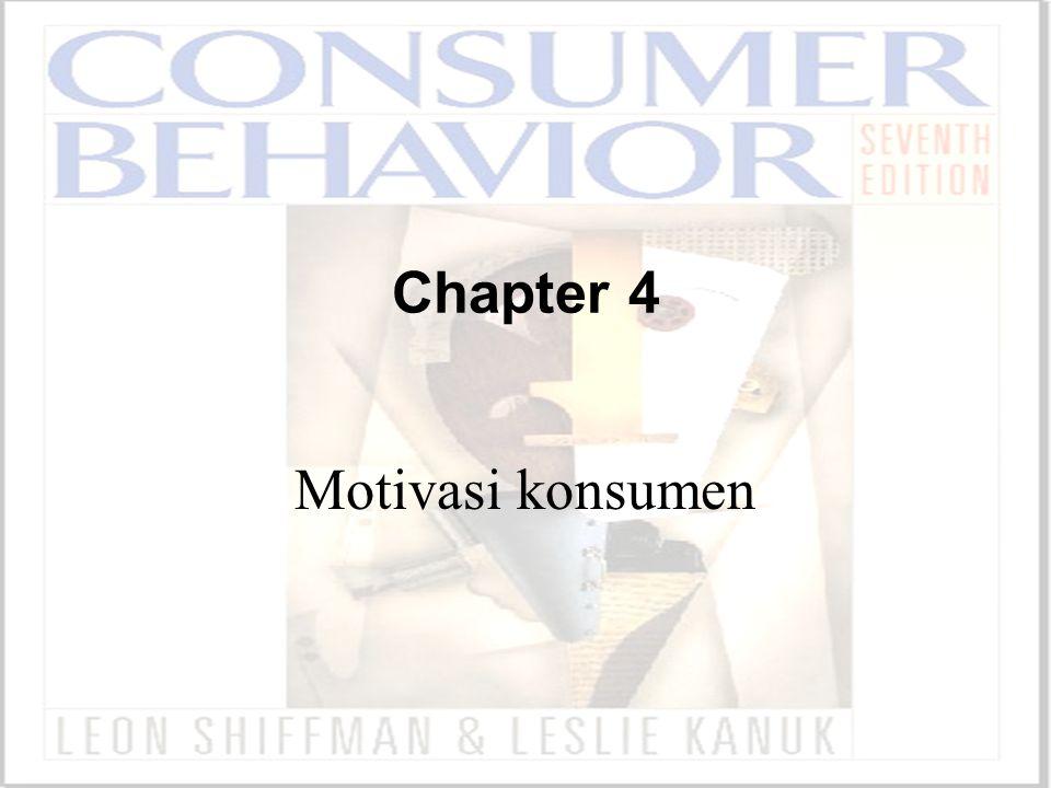Chapter 4 Motivasi konsumen