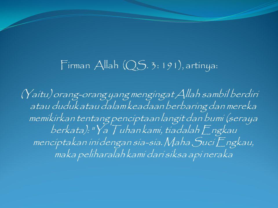 Firman Allah (QS.
