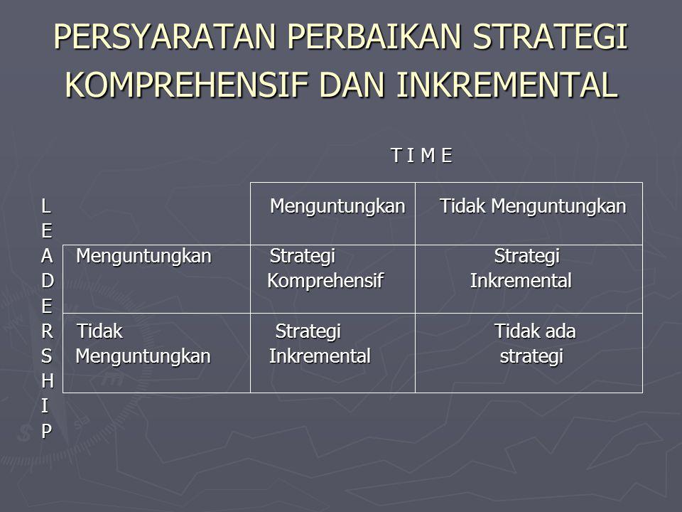 Adanya ukuran atau standar pelaksanaan administrasi publik (public administration performance) dalam konteks masukan (input), pengelolaan (conversion)
