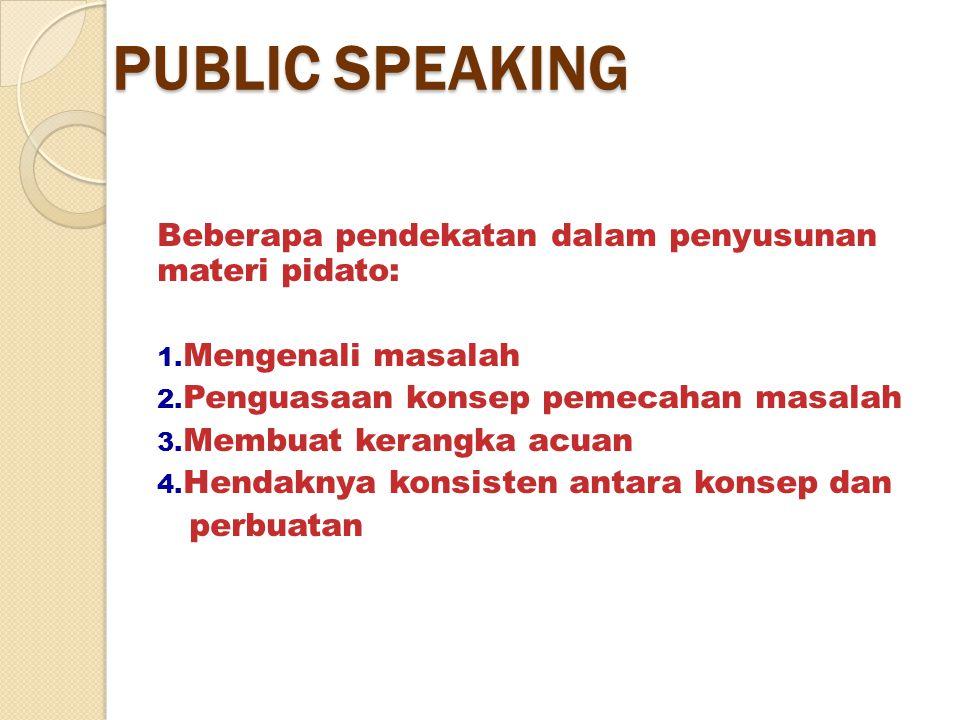 Dakwah Lisan Bisa ke individu, kelompok, atau ke umum Individu/kelompok: metode dialog, interview, maupun diskusi Umum: Monolog/ceramah/public speaking STRATEGI DAKWAH (3) DAKWAH BIL MAQOL
