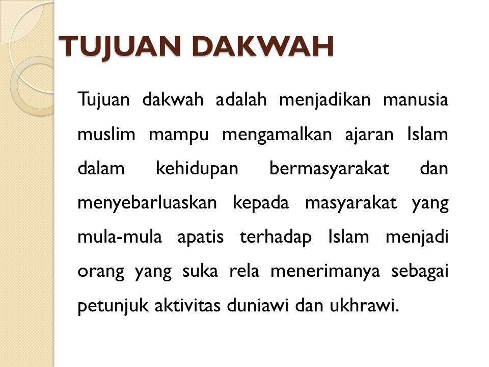Etimologis Kata dakwah adalah derivasi dari bahasa Arab Da'wah .