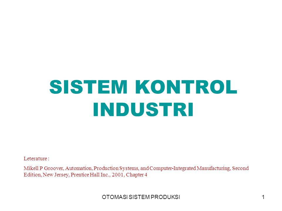 OTOMASI SISTEM PRODUKSI12 Kontrol Hantaran Kedepan (Feedforward Control) 