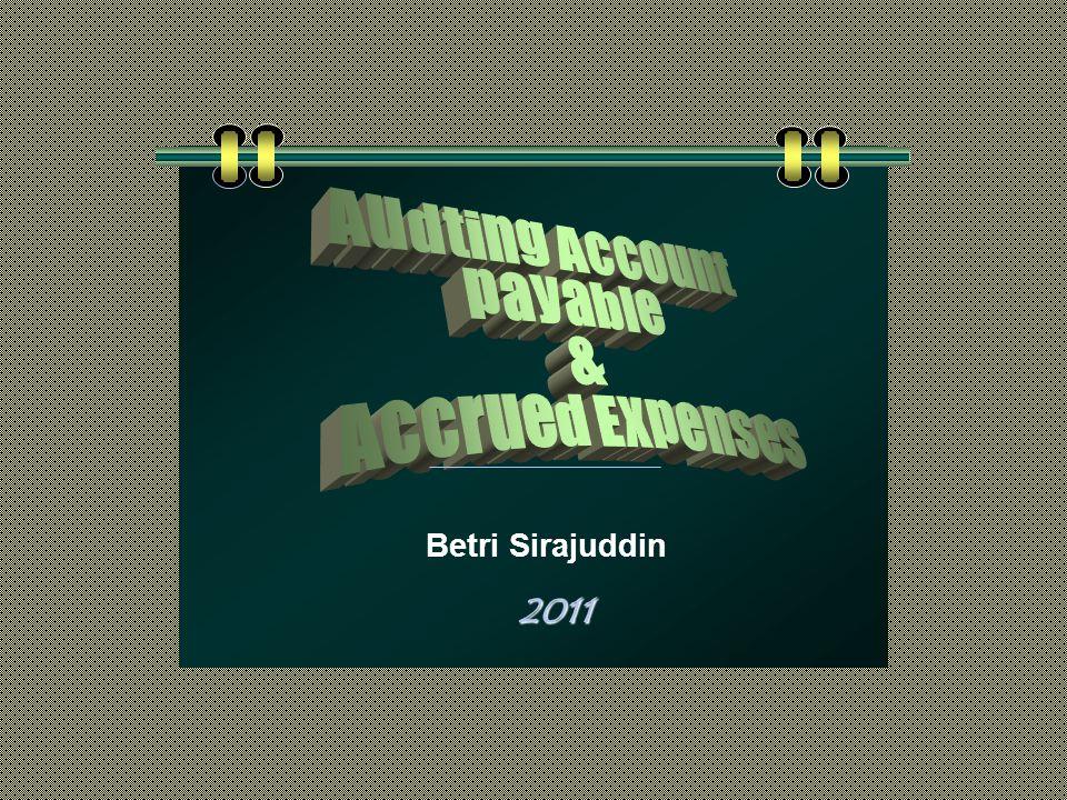 2011 Betri Sirajuddin