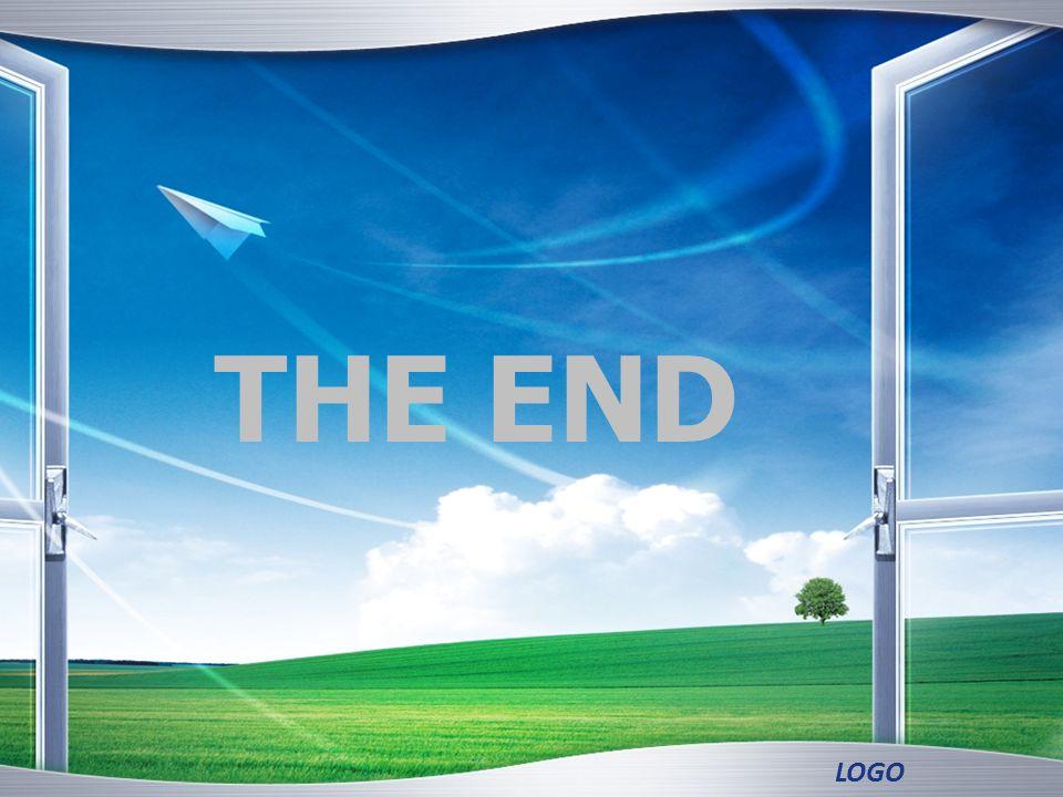 LOGO THE END