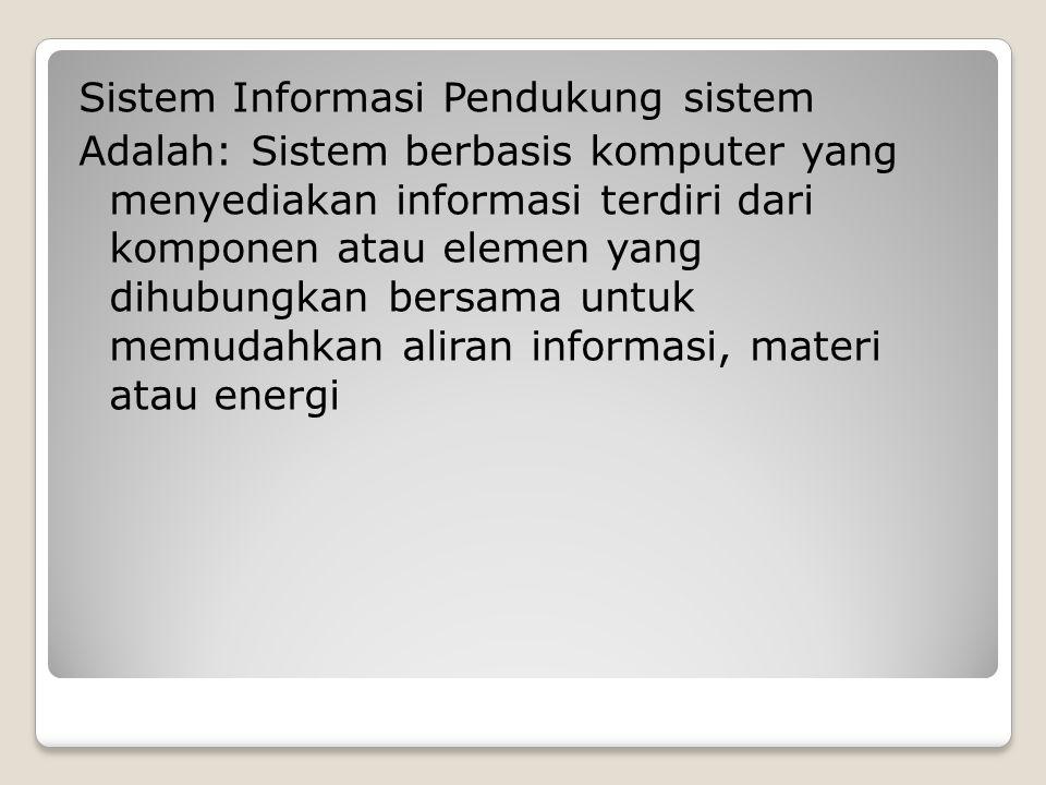 TUJUAN: 1.Membantu menyelesaikan masalah semi-struktural 2.