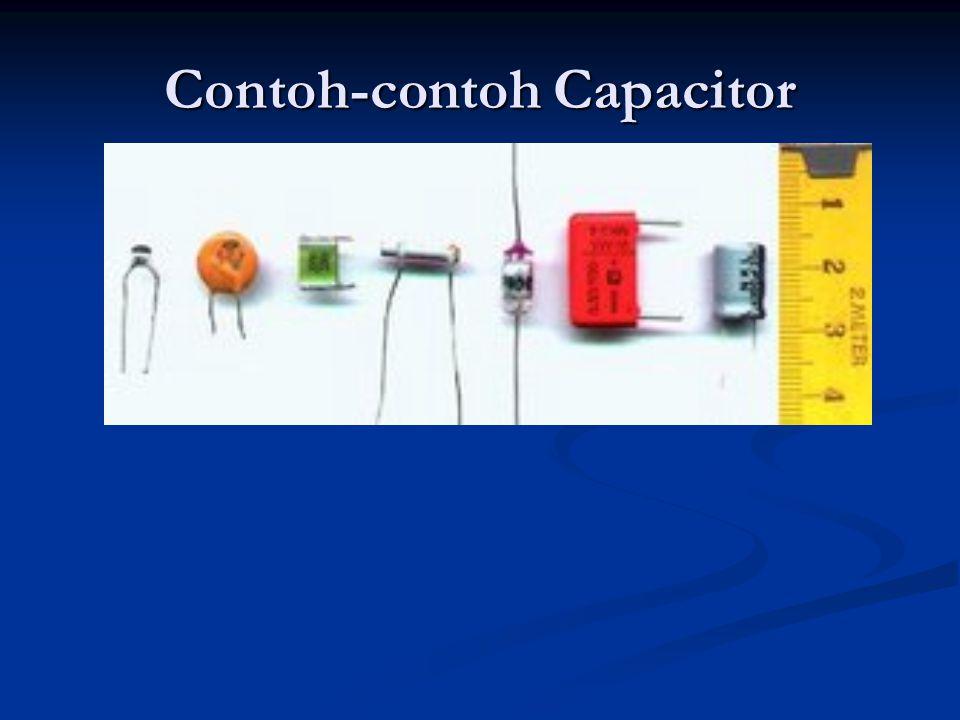 Contoh-contoh Capacitor