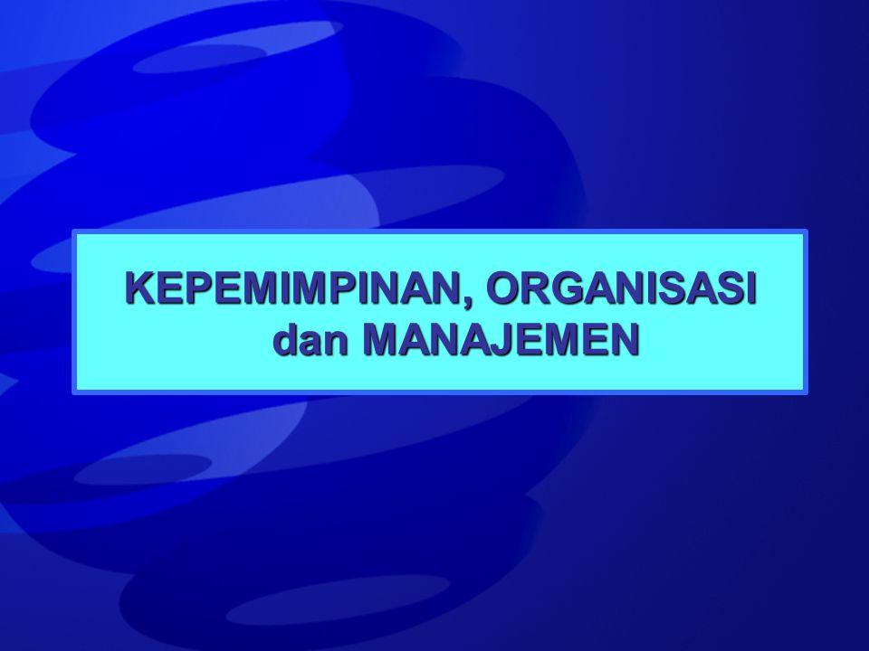 HERSEY – BLANCHARD SITUATIONAL LEADERSHIP 1 2 3 12 3 MATURITYMATURITY SKILL NEGOTIATE ENCOURAGE & TRAINING TRAINING & ENCOURAGE TRAINING ENCOURAGE EMPOWERMENT TRAINING & ENCOURAGE TRAINING NEGOTIATE & TRAINING PLAYING CAPTAIN DI DEPAN DI BELAKANG