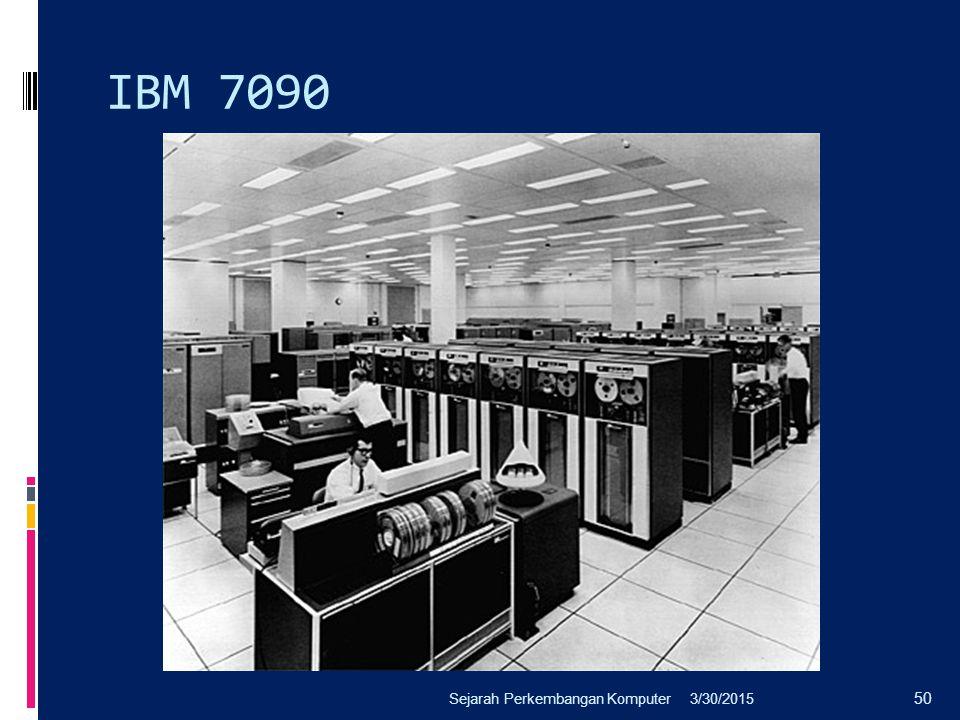 IBM 7090 3/30/2015Sejarah Perkembangan Komputer 50