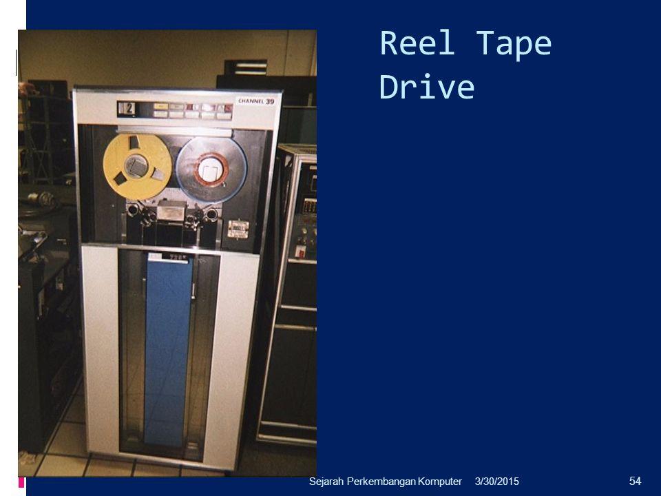Reel Tape Drive 3/30/2015Sejarah Perkembangan Komputer 54