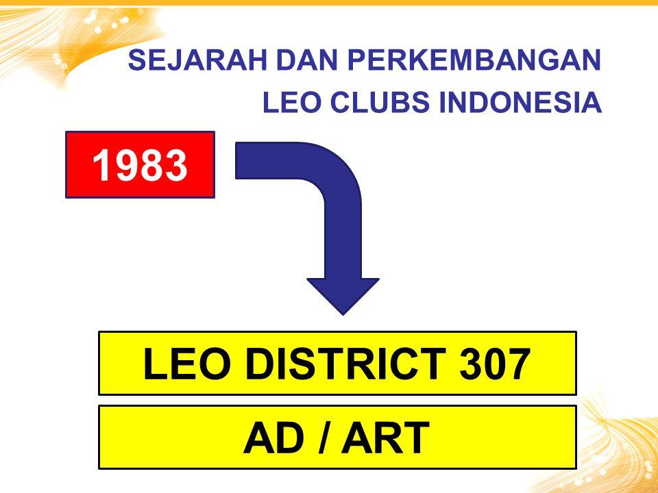 1983 LEO DISTRICT 307 AD / ART