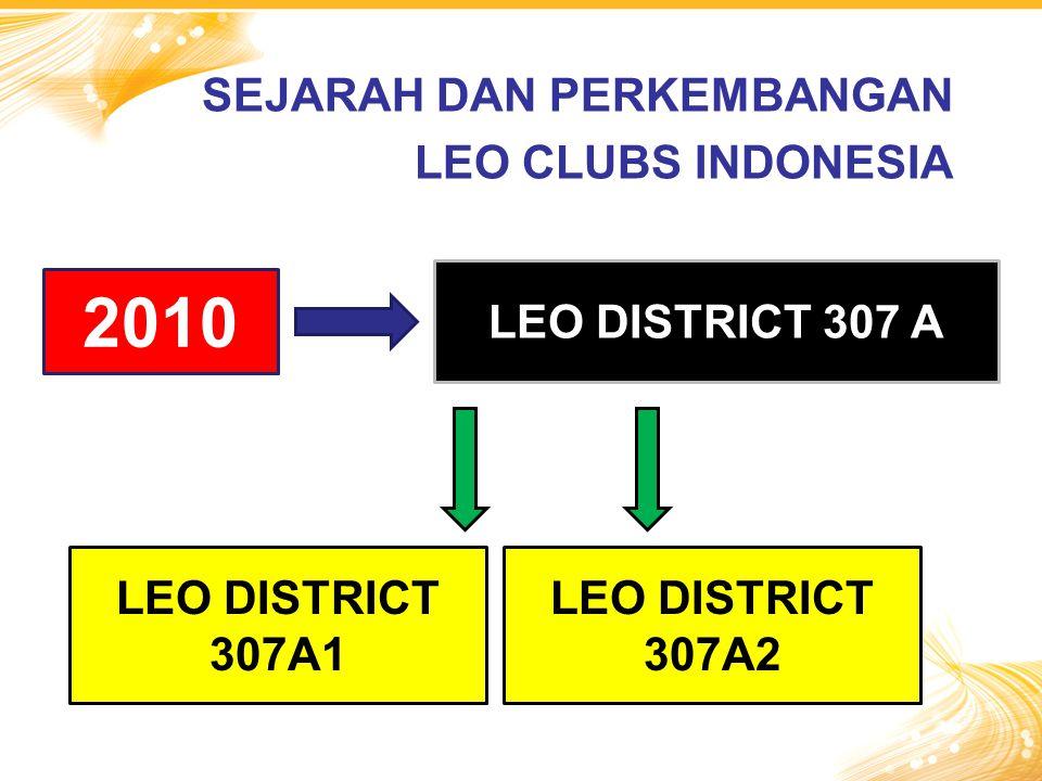 2010 LEO DISTRICT 307A1 LEO DISTRICT 307 A LEO DISTRICT 307A2 SEJARAH DAN PERKEMBANGAN LEO CLUBS INDONESIA