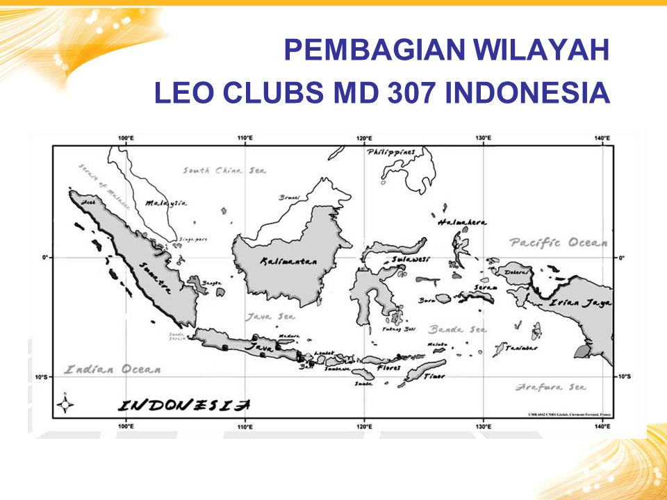 PEMBAGIAN WILAYAH LEO CLUBS MD 307 INDONESIA