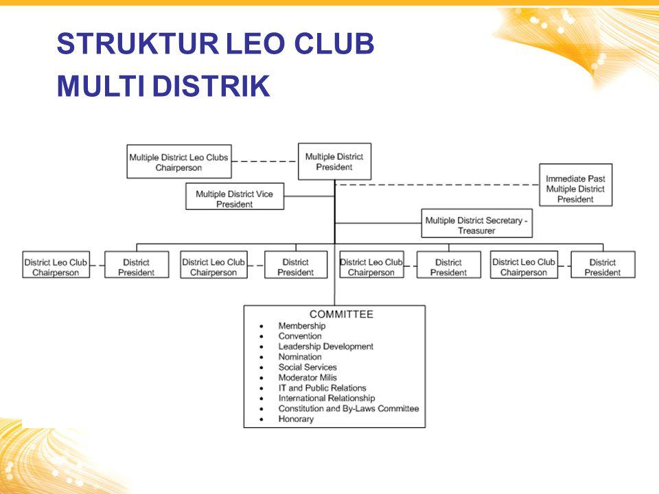 STRUKTUR LEO CLUB MULTI DISTRIK