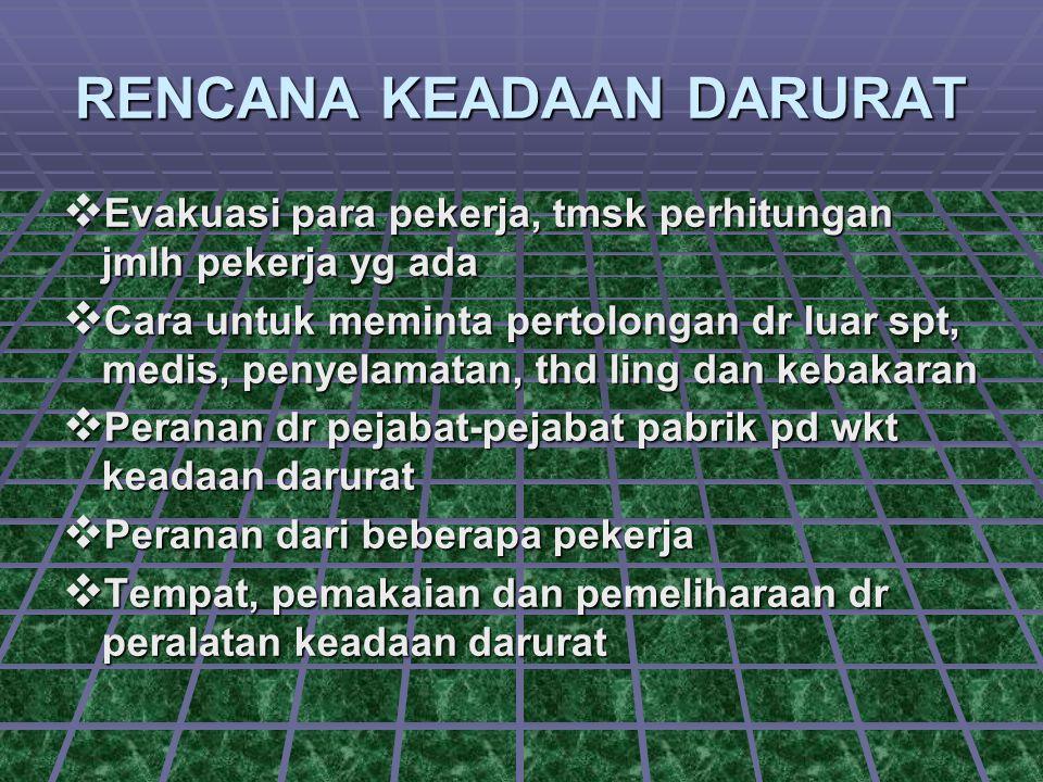  Keputusan untuk memadamkan Kbkrn Untuk mendukung usaha evakuasi pabrik.
