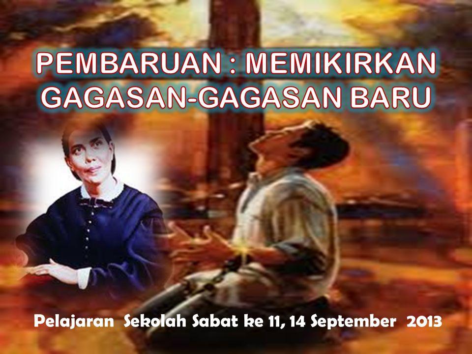 Pelajaran Sekolah Sabat ke 11, 14 September 2013