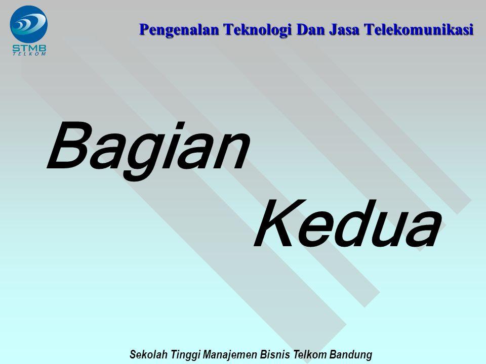 Sekolah Tinggi Manajemen Bisnis Telkom Bandung Pengenalan Teknologi Dan Jasa Telekomunikasi Bagian Kedua
