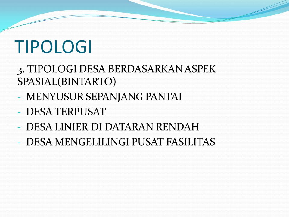 TIPOLOGI 3.