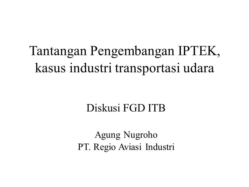 Intro Indonesia sebaga negara kepulauan yang besar, ketergantungan terhadap transportasi udara sangan tinggi Indonesia negara terbesar pengguna transportasi udara ke 12 didunia, dengan pertumbuhan tertinggi.