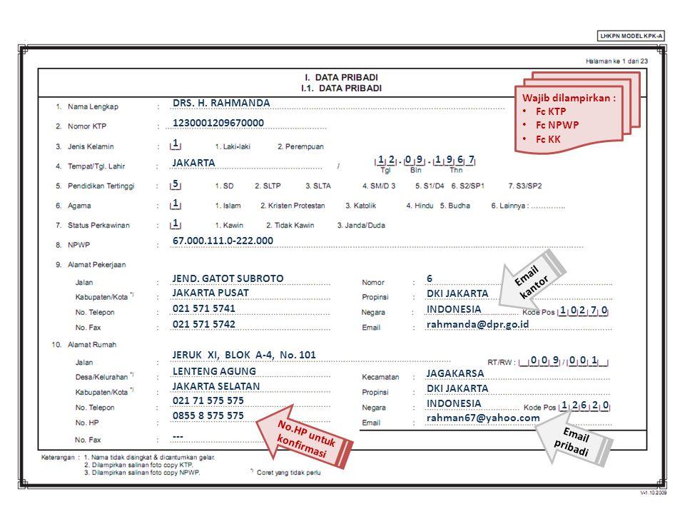 DRS.H. RAHMANDA ANGGOTA DPR RI PERIODE 2014-2019 DRS.