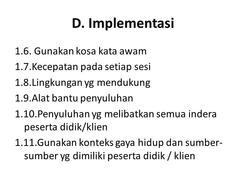 D.Implementasi 1.6.