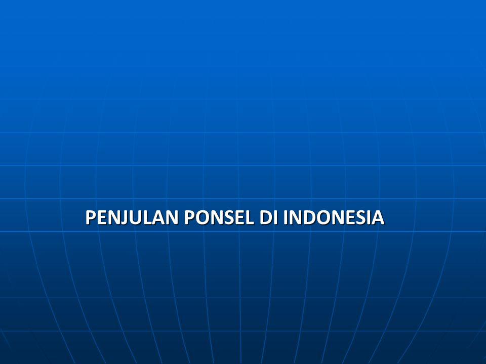 PENJULAN PONSEL DI INDONESIA
